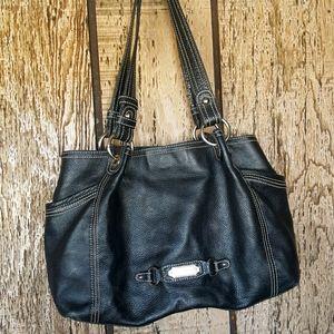 Beautiful Etienne Aigner black leather bag